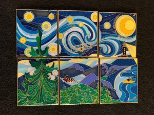 2020 NCDI Starry Night Pin Set